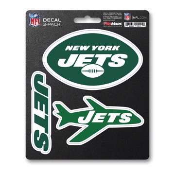 Picture of NFL - New York Jets Decal 3-pk