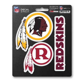 Picture of NFL - Washington Redskins Decal 3-pk