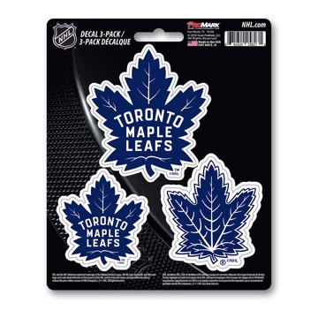 Picture of NHL - Toronto Maple Leafs Decal 3-pk