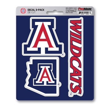Picture of Arizona Decal 3-pk