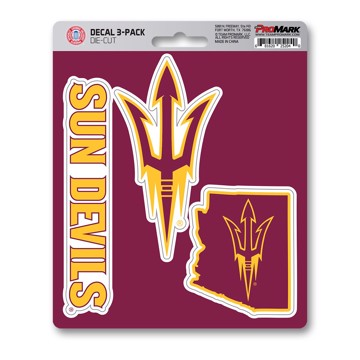 Picture of Arizona State Decal 3-pk