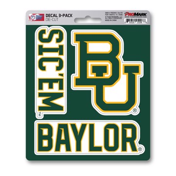 Picture of Baylor Decal 3-pk