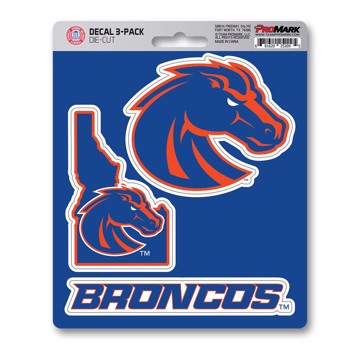 Picture of Boise State Decal 3-pk