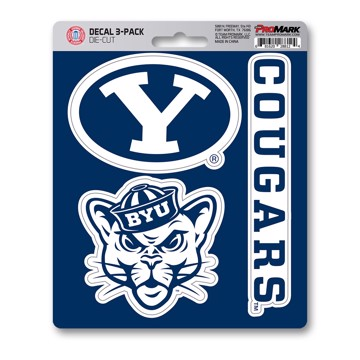 Picture of BYU Decal 3-pk