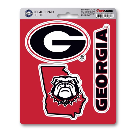 Picture of Georgia Decal 3-pk