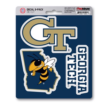 Picture of Georgia Tech Decal 3-pk