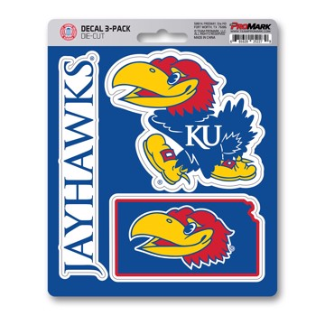 Picture of Kansas Decal 3-pk