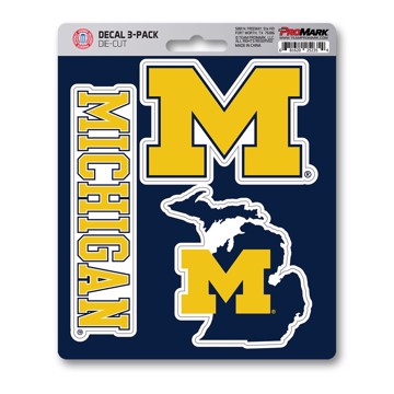 Picture of Michigan Decal 3-pk
