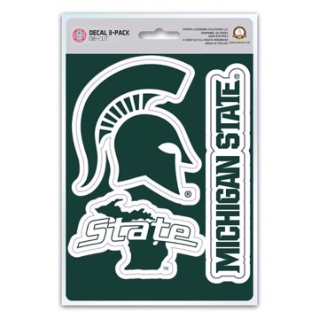 Picture of Michigan State Decal 3-pk