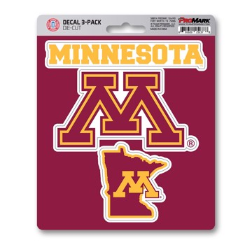 Picture of Minnesota Decal 3-pk