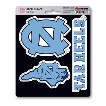 Picture of North Carolina Decal 3-pk