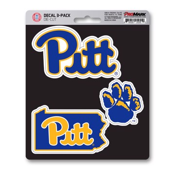 Picture of Pitt Decal 3-pk