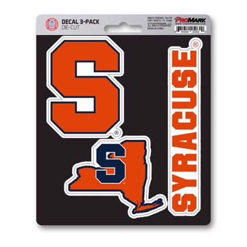Picture of Syracuse Decal 3-pk