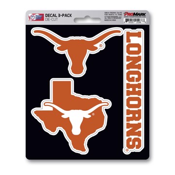 Picture of Texas Decal 3-pk