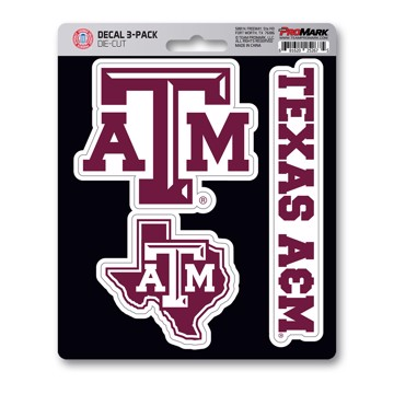 Picture of Texas A&M Decal 3-pk