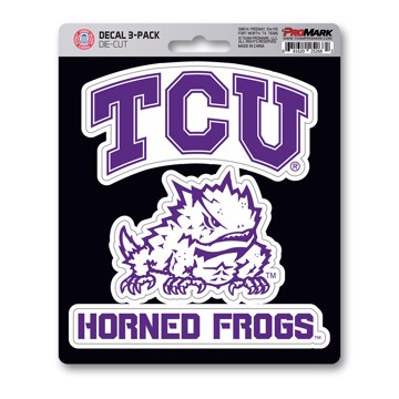 Picture of TCU Decal 3-pk