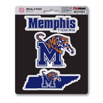 Picture of Memphis Decal 3-pk