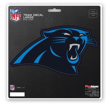 Picture of NFL - Carolina Panthers Large Decal