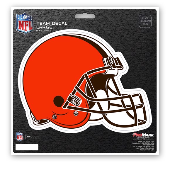 Picture of NFL - Cleveland Browns Large Decal