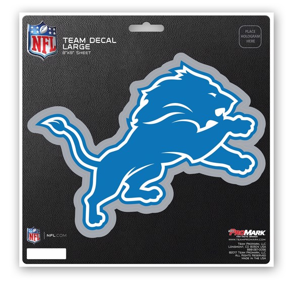 Picture of NFL - Detroit Lions Large Decal