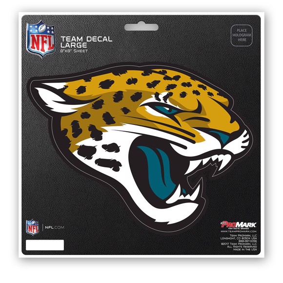 Picture of NFL - Jacksonville Jaguars Large Decal