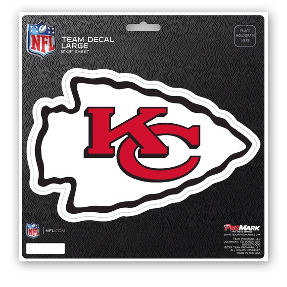 Picture of NFL - Kansas City Chiefs Large Decal