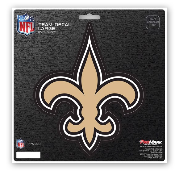 Picture of NFL - New Orleans Saints Large Decal