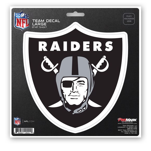 Picture of NFL - Las Vegas Raiders Large Decal