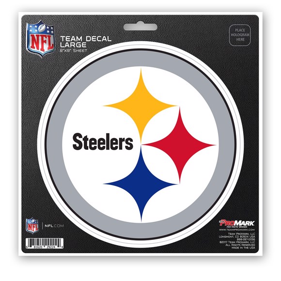 Picture of NFL - Pittsburgh Steelers Large Decal