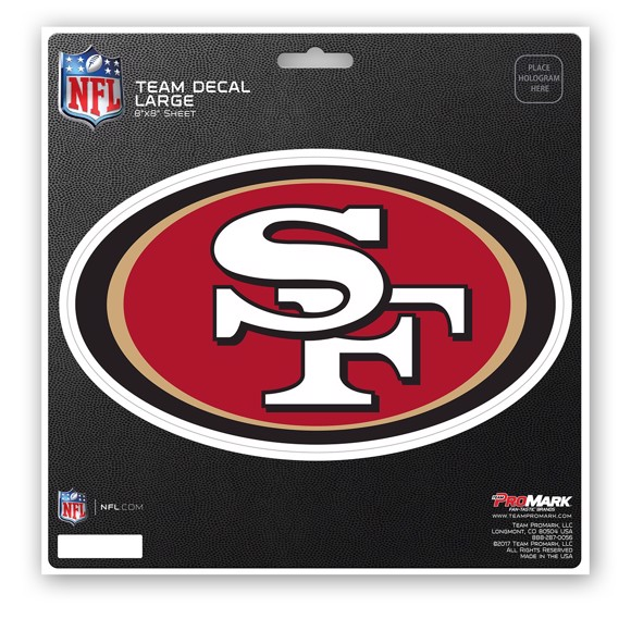 Picture of NFL - San Francisco 49ers Large Decal