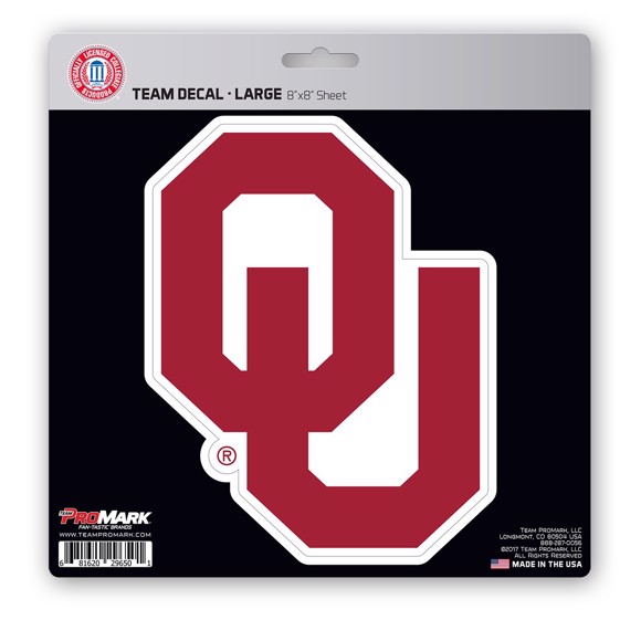 Picture of Oklahoma Large Decal