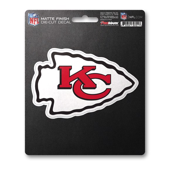 Picture of NFL - Kansas City Chiefs Matte Decal