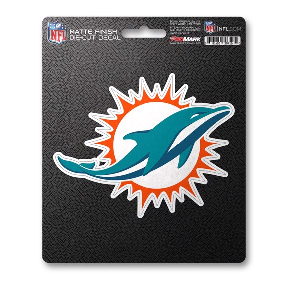 Picture of NFL - Miami Dolphins Matte Decal