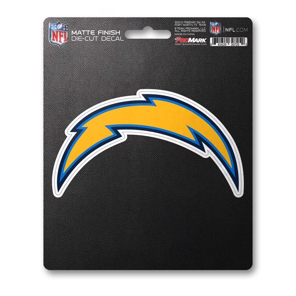 Picture of NFL - Los Angeles Chargers Matte Decal