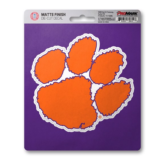 Picture of Clemson Matte Decal