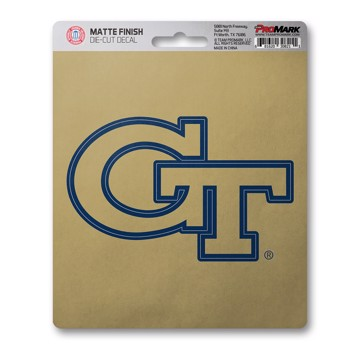 Picture of Georgia Tech Matte Decal