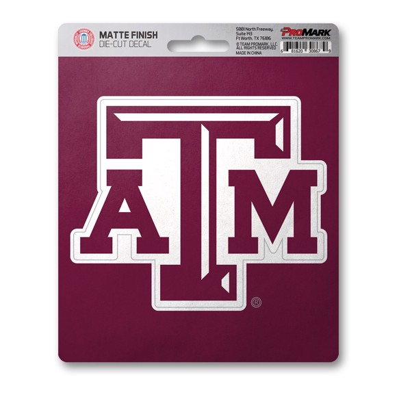 Picture of Texas A&M Matte Decal