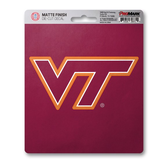 Picture of Virginia Tech Matte Decal