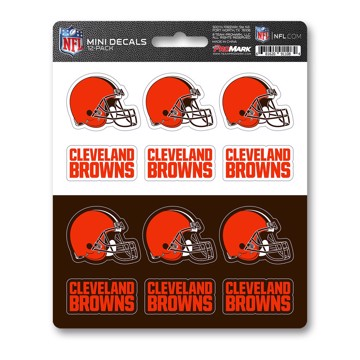 Picture of NFL - Cleveland Browns Mini Decal 12-pk