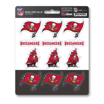 Picture of NFL - Tampa Bay Buccaneers Mini Decal 12-pk