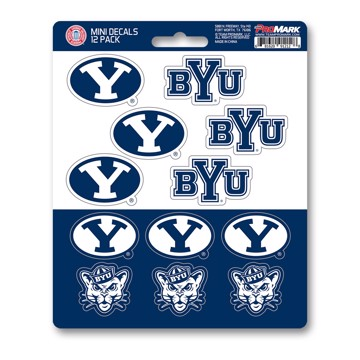 Picture of BYU Mini Decal 12-pk