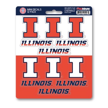 Picture of Illinois Mini Decal 12-pk