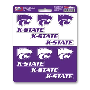 Picture of Kansas State Mini Decal 12-pk