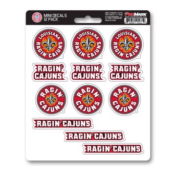 Picture of Louisiana-Lafayette Mini Decal 12-pk