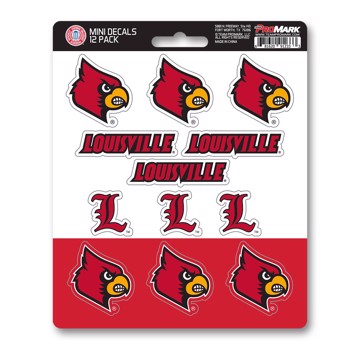 Picture of Louisville Mini Decal 12-pk