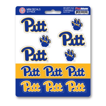 Picture of Pitt Mini Decal 12-pk