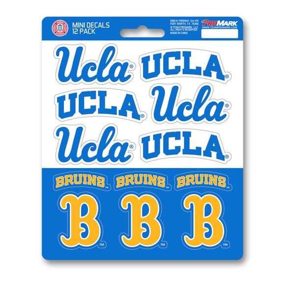 Picture of UCLA Mini Decal 12-pk