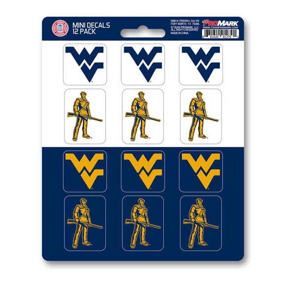 Picture of West Virginia Mini Decal 12-pk