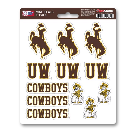 Picture of Wyoming Mini Decal 12-pk