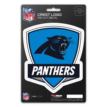 Picture of NFL - Carolina Panthers Shield Decal